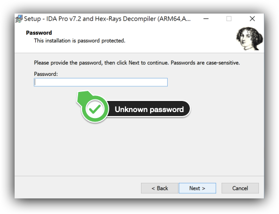 Operation Crack: Hacking IDA Pro Installer PRNG from an Unusual Way